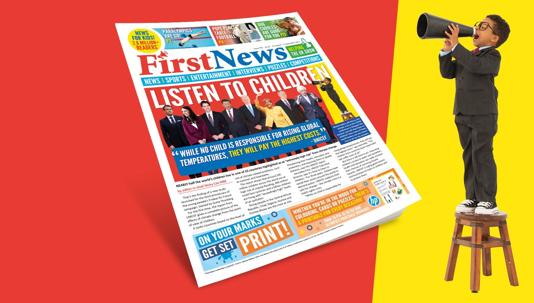 This week's front page   Issue 793