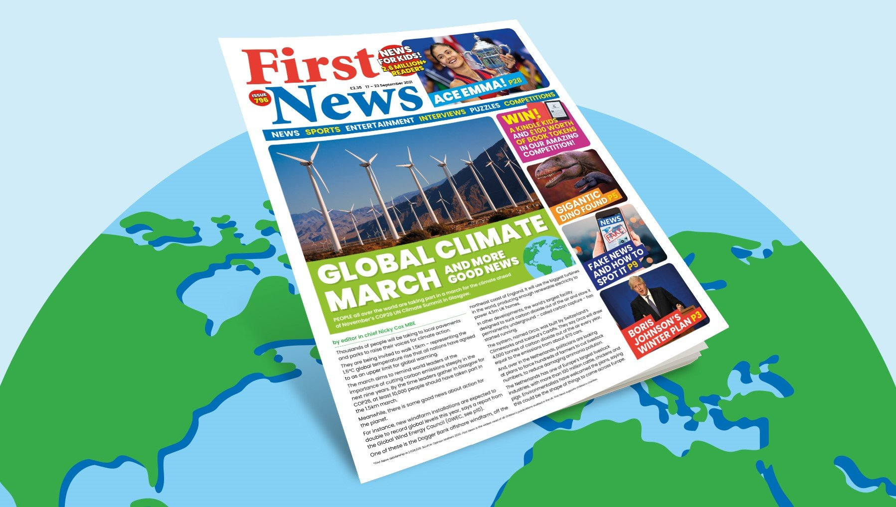 This week's front page   Issue 796