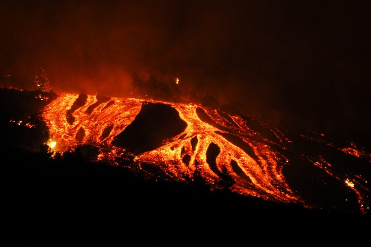 Canary Island Eruption